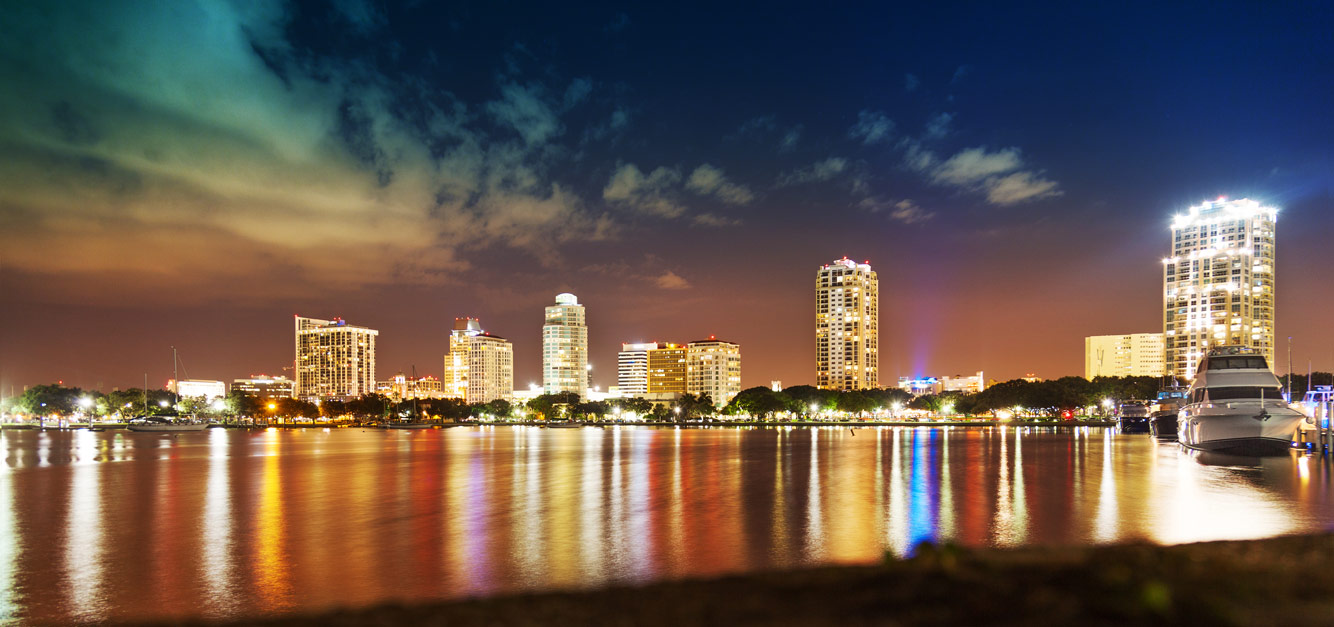 St Pete At Night